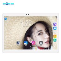 CIGE X20 Octa Core 10 inch Android 7.0 Tablet PC 4GB RAM 32GB/64GB ROM WiFi Dual Cameras OTG Dual SIM Card GPS Tablets PC
