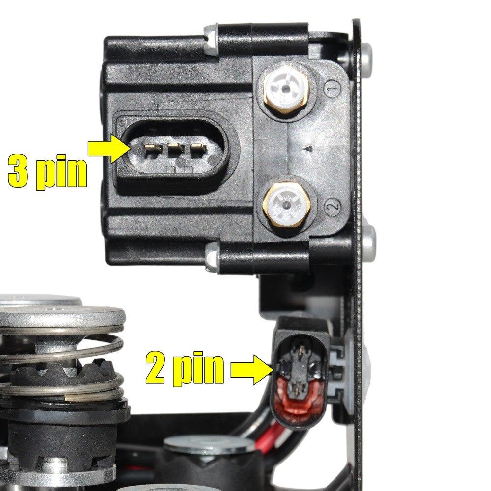 Image 5 - AP03 pompa kompresora zawieszenia pneumatycznego z blokada zaworu + 2 * sprężyna powietrzna dla BMW 5 7 seria F01 F02 F04 F07 GT F11 37206784137Amortyzatory i rozpórki   -