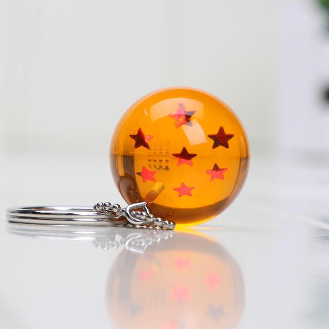 7Pcs 2.5cm Dragon Ball Z Keychain Pendant