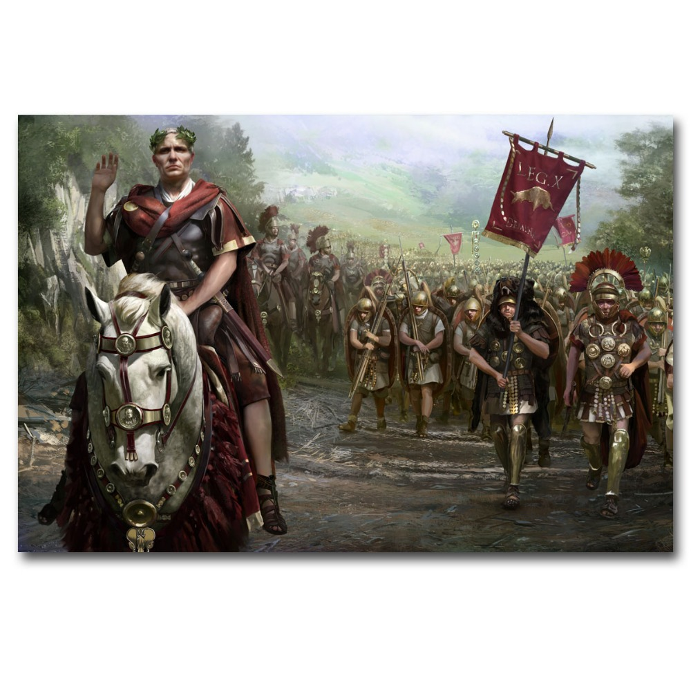 Video Game Poster Total War Rome Ii Wallpaper Prints Wall Picture