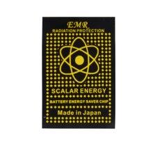 EMR scalaire énergie téléphone autocollant Anti rayonnement garder la santé ordinateur portable Anti EMP EMF vente chaude 50 pcs/lot