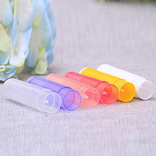 купить 5g gram lipstick tube lipstick tube DIY lip balm tube cosmetic packaging sub-bottle tube 10pcs perfume sub-bottle в интернет-магазине