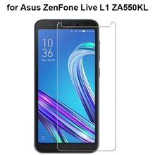 Tempered Glass For ASUS Zenfone Live L1 ZA550KL Screen Protector Film 9H Protective 2.5D