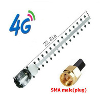 New High Gain 28dBi SMA Plug 4G 696 960 MHz 1710 2690 MHz Yagi Antenne Dropshipping