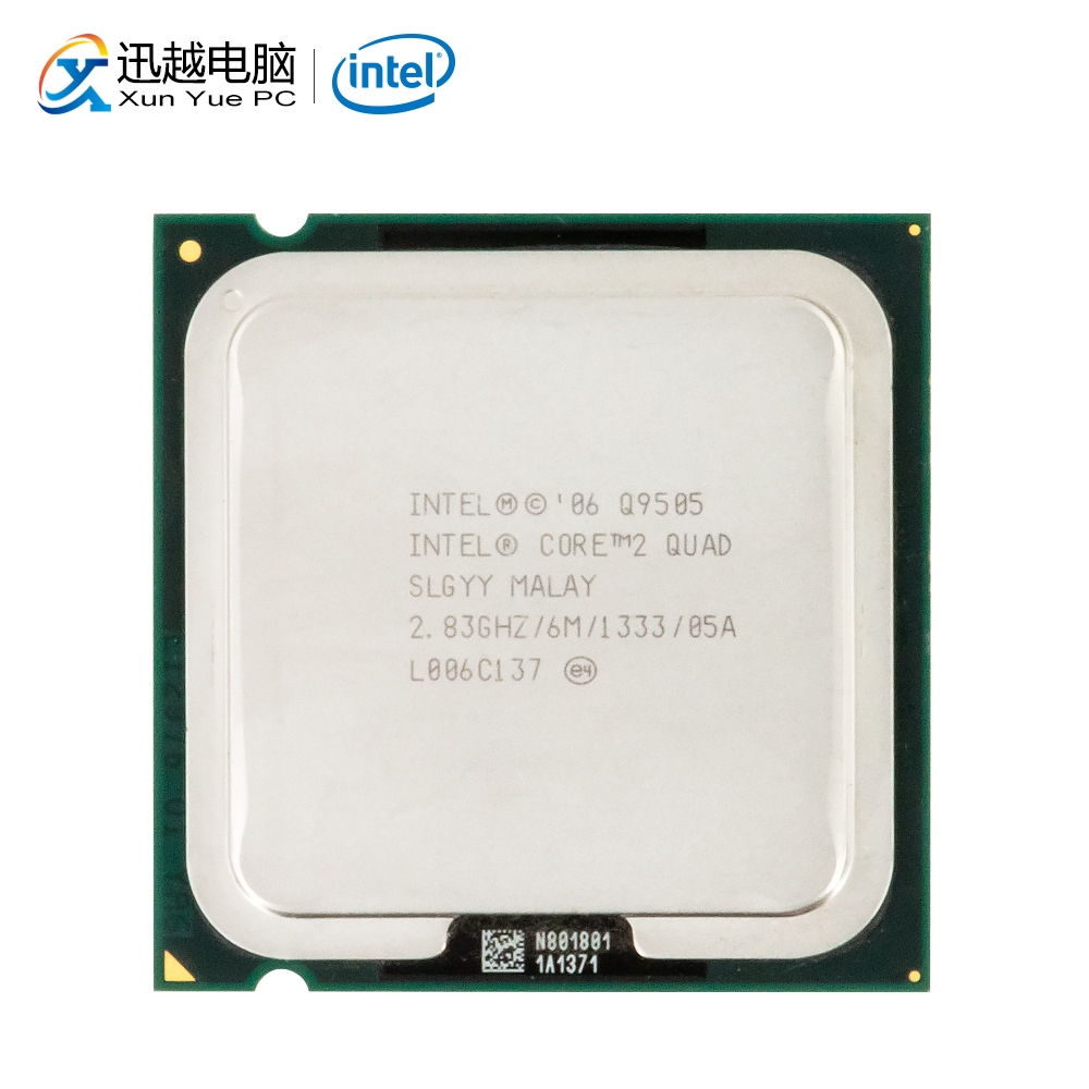 Intel Core 2 Quad Q9505 escritorio procesador Quad-Core de 2,83 GHz 6MB de caché FSB 1333 LGA 775 9505 CPU utilizada INTEL QHQG versión de ingeniería ES de I7 6400T I7-6700K 6700K procesador CPU 2,2 GHz Q0 paso quad-core socket 1151