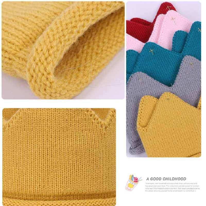 Naturalwell diadema de corona para bebés Crochet para niños o niñas, sombrero, accesorios para el pelo de niños sombrero de ganchillo accesorios para la cabeza para fotos HB101