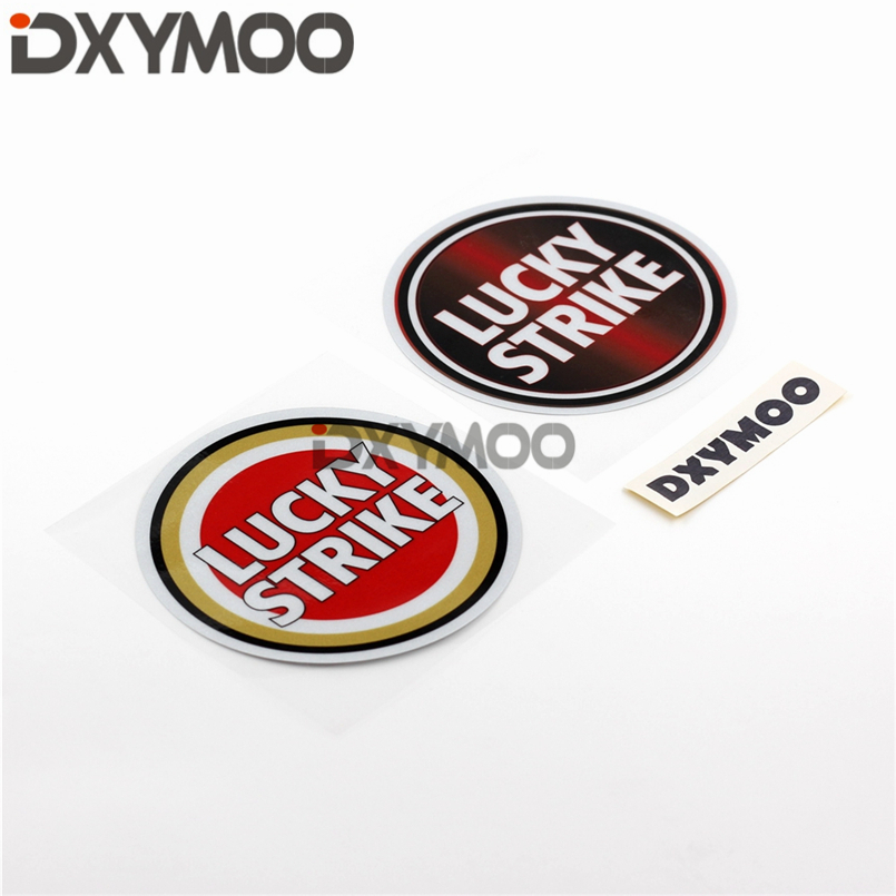 Auto Window Sticker Decals Reflective Funny Truck Lucky Motorcycle Tape for LUCKY STRIKE