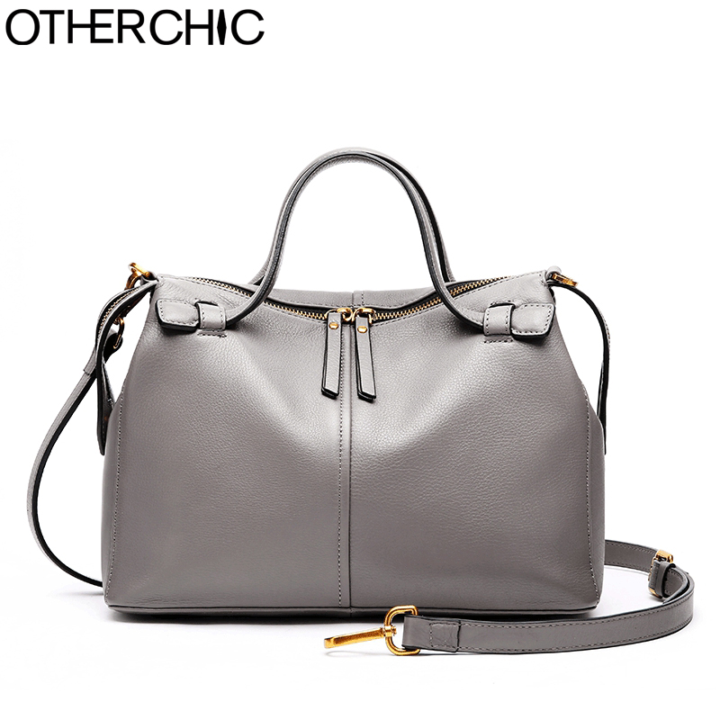 купить OTHERCHIC Brand Top Handle Clemence Women Handbags Genuine Leather Designer Shoulder Bags Crossbody Bag Drop Shipping 8N05-24 по цене 3163.92 рублей