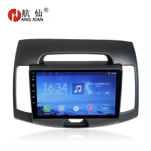 Bway 9 Car radio for Hyundai Elantra 2008-2010 Quadcore Android 7.0.1 car dvd player gps navi with 1 G RAM,16G ROM
