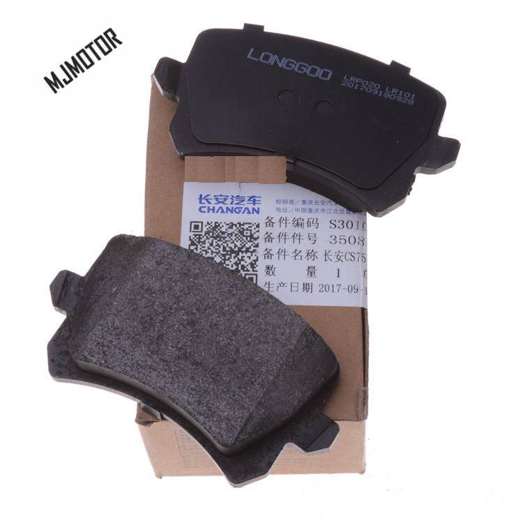 (4 pièce/ensemble) jeu de plaquettes de frein avant/arrière KIT-FR frein à disque RR pour chinois CHANGAN CS75 SUV Auto voiture moteur partie S301066-1000 - 4