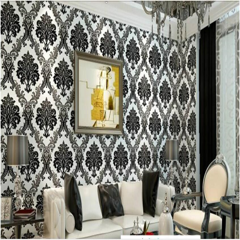 beibehang 3D high - relief embossed thicker Continental - style non - woven living room bedroom TV background wallpaper beibehang 3d high quality continental relief wallpaper high living living room bedroom 3d wallpaper tv background wallpaper roll