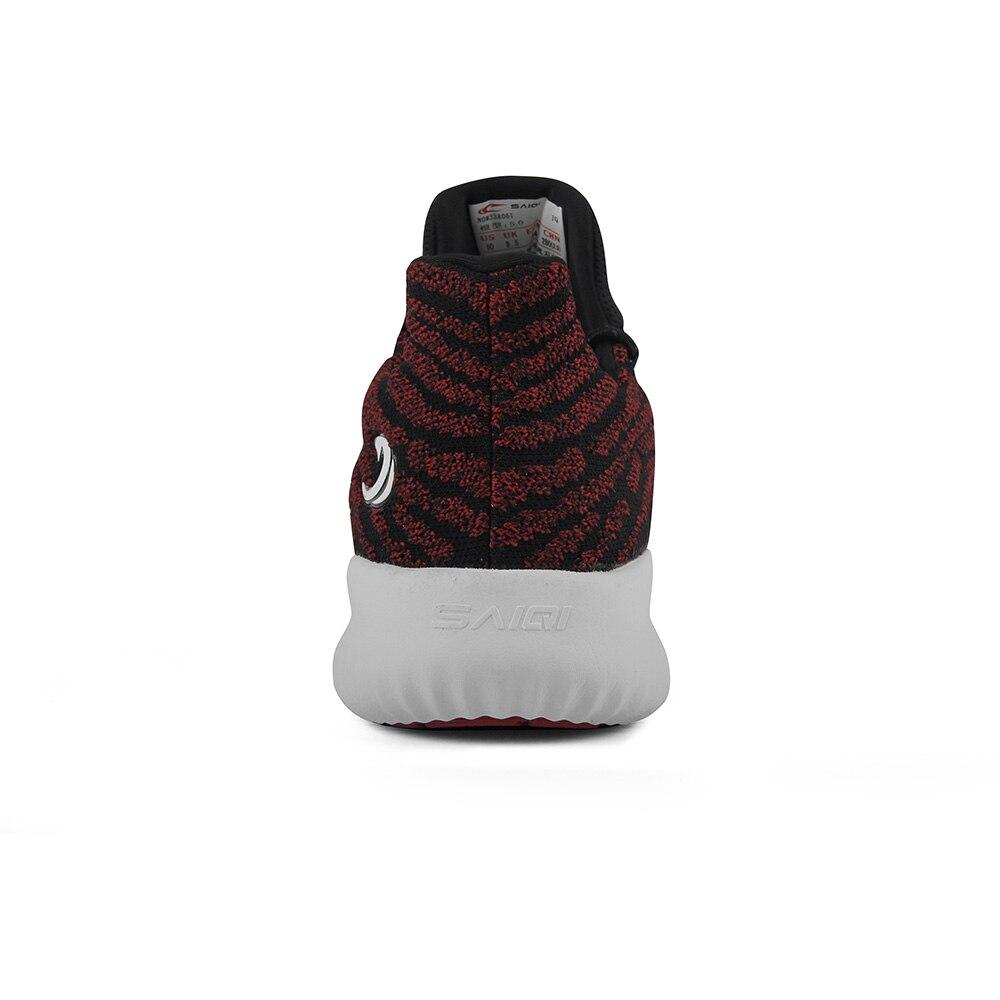 SAIQI бренд 2019 мужская повседневная обувь текстильная прогулочная обувь спортивный образ жизни дышащие кроссовки Легкая удобная спортивная обувь 338061 - 3