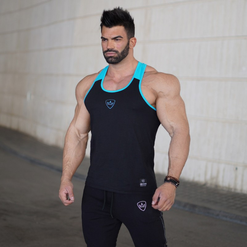 Summer   Tank     Top   Men Bodybuilding Clothing and Fitness Mens Sleeveless Shirt fitness Vests Cotton Singlets Muscle   Tops