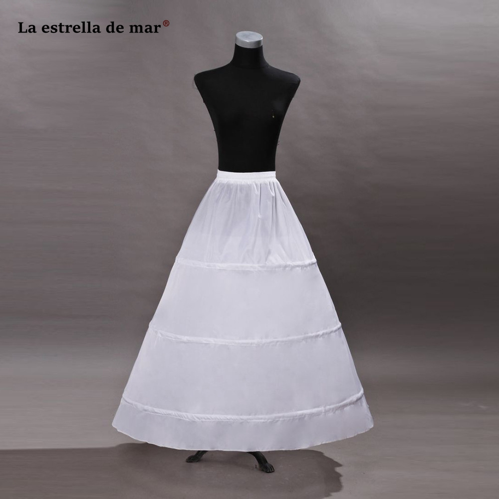 La Estrella De Mar Jupon Mariage New Tulle Sexy Mermaid Enaguas Para El Vestido De Boda Long Underskirt High Quality Petticoat Wedding Accessories Petticoats