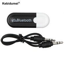 Usb 3.5Mm Auto Bluetooth Audio Muziek Ontvanger Adapter Auto Aux Streaming A2DP Kit Voor Speaker Hoofdtelefoon Notebook Voor Iphone