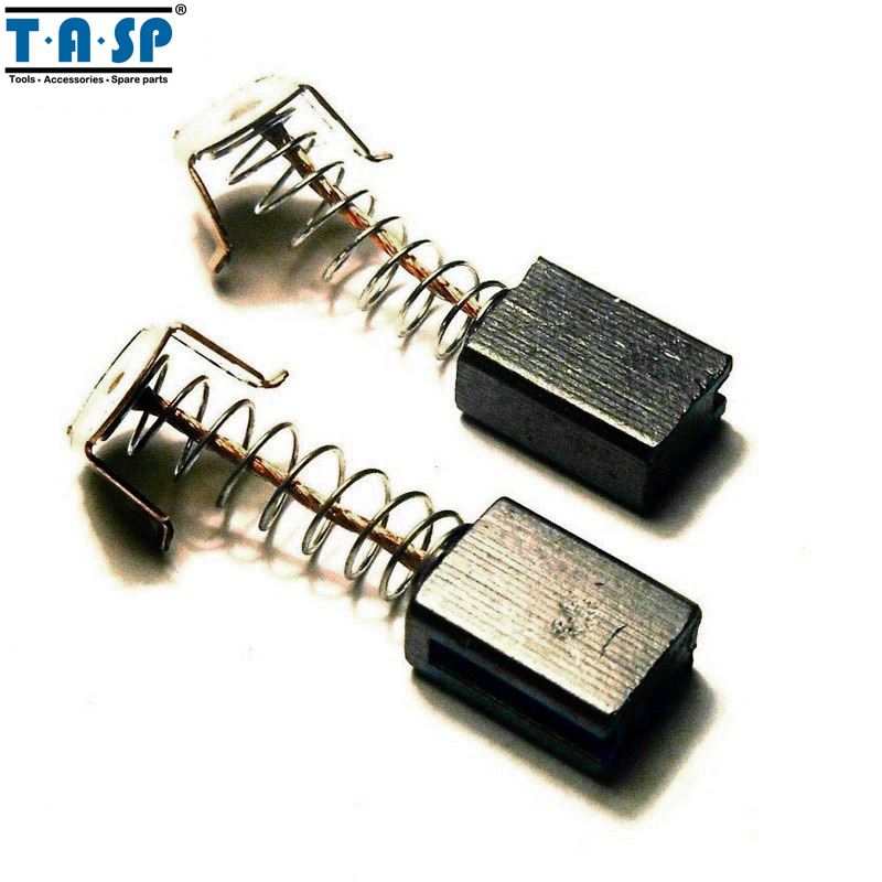 TASP 10 Pair Carbon Brushes 5x8x12mm For B&D G720  Angle Grinder Motor tasp 5 pair per set carbon brushes 5 8 15mm replace for bosch electric drill motors