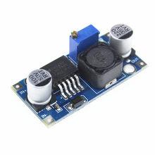 Módulo de fonte de alimentação adj lm2596, módulo de DC-DC fonte de alimentação 5v/12v/24 com 10 peças regulador de tensão ajustável 3a
