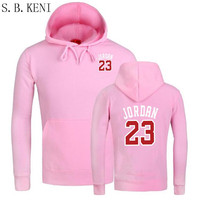 2017 Brand New Fashion JORDAN 23 Sportswear Print Men Mens Hoodies Sweatshirts Clothing