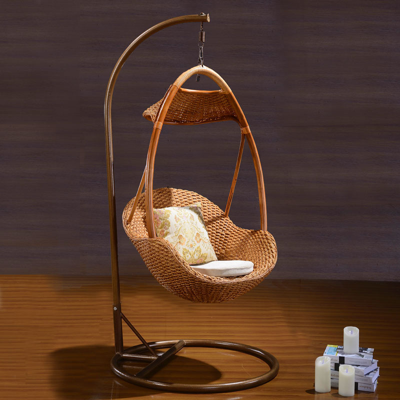 hanging chair wood pull out bed twin indoor cane egg shaped swing 1016 in hotel chairs from furniture on aliexpress com alibaba group