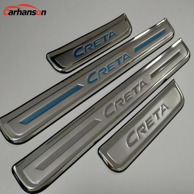 Aliexpress.com : Buy For Car Accessories Hyundai Creta 2014 2015 2016 2017 2018 Stainless Steel