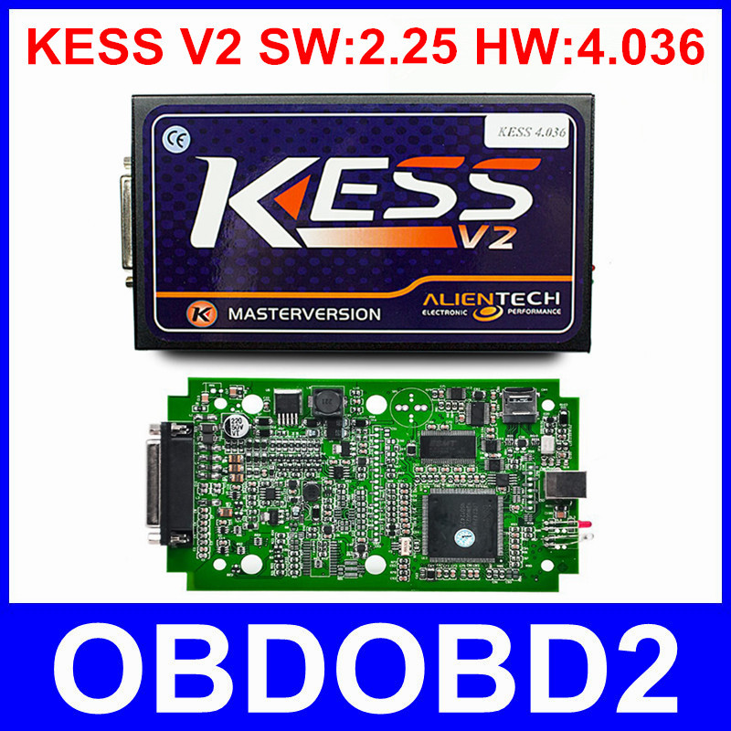 2016 Newest KESS V2 25 Hardware V4 036 OBD2 Manager Tuning Kit Best Board KESS V2