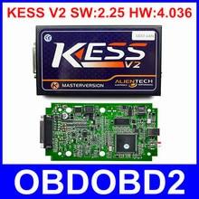 2016 Más Reciente KESS V2.23 Hardware V4.036 OBD2 Gerente Sintonía Kit Mejor junta No Tokens KESS V2 Programador Del ECU Del Coche ECM Titanium 1.61