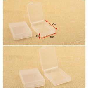 Image 5 - 6pcs Battery Case Transparent  Battery Protective Storage Box Moisture Proof Box For Gopro Hero 7 6 5 Black Xiaomi Yi Camera