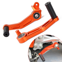 CNC motorcycle Brake Clutch Gear Pedal Lever for KTM DUKE 120 200 390 RC125 RC200 RC390 2014 2015 2016 motorbike accessories
