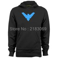 Flamebird Nightwing And Robin Symbol Mens Womens Vintage Hoodies Sweatshirts