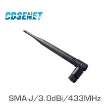 Wifi-Antenna Communications Omni Sma Male Directional 433M High-Gain 2pcs Uhf for TX433-JKS-20