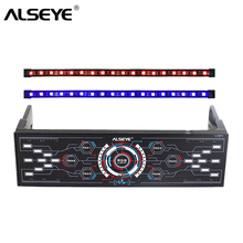 ALSEYE PC Fan Controller 6 Channels 12V Cooling Fan Speed and RGB Controller with Dual Magnetic