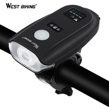 WEST BIKING USB Charging Bike Flashlight 350 Lumen Intelligent Sensor Front Light 5 Model Cycling Waterproof Bicycle Headlight(China)
