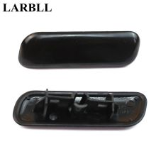 LARBLL Front Bumper headlight water spray nozzle cover headlamp washer cap for Mitsubishi pajero V97 V93 Montero 07-10