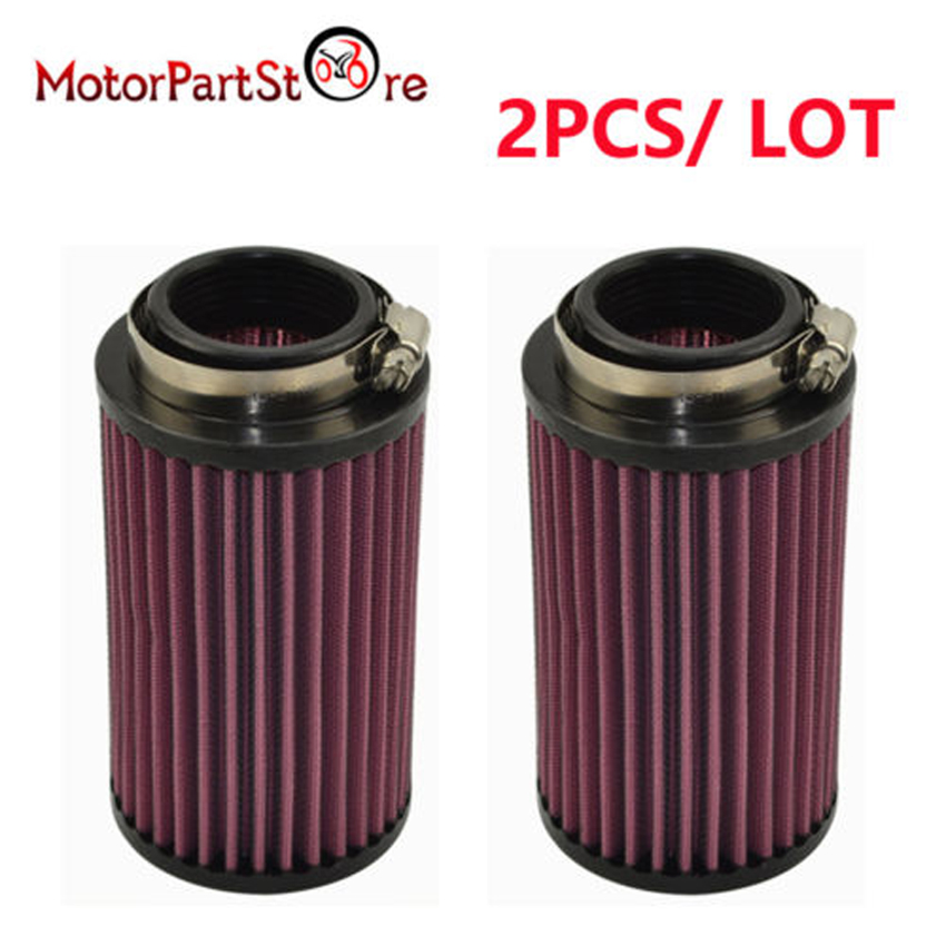 Pair Fit 2004 Stock Carb Size Banshee Air Filter-AF1050 and Pre Cover