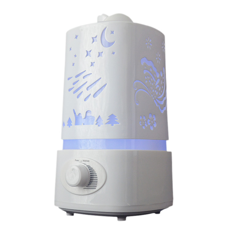 Creative Ultrasonic Humidifier Carving Aromatherapy Humidifying Machine with Colorful Night Light Low Noise Mini Air Purifier floor style humidifier home mute air conditioning bedroom high capacity wetness creative air aromatherapy machine fog volume