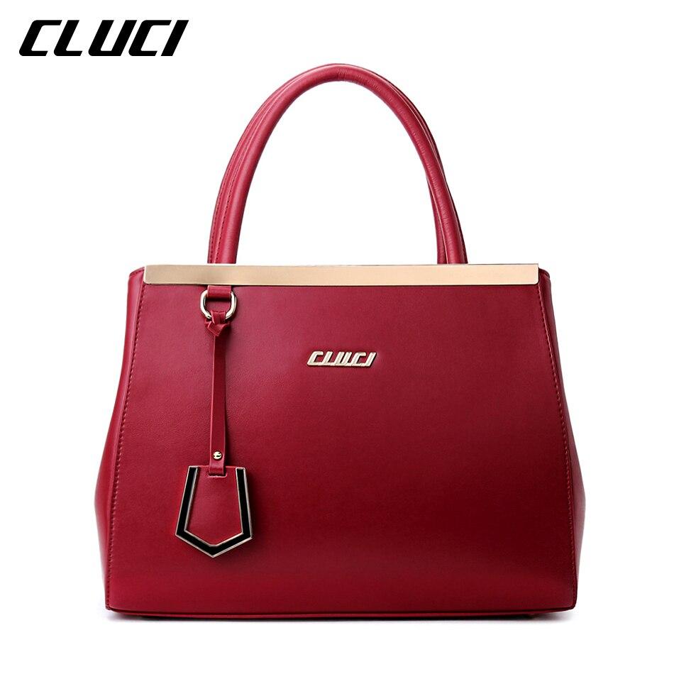 Aliexpress.com : Buy Cluci Genuine Leather Bags Handbags ...