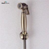 Antique Bathroom Bidet Faucet Toilet Bidet Shower Set Portable Bidet Spray Brass Shower Holder And 1