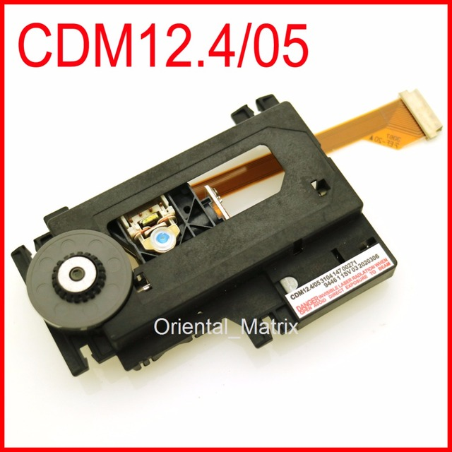 Original cdm12.4/05 optical pick up mecanismo cdm12.4 pode repalce vam1204 cd laser lens assembléia para philips cdm12 cd pro jogador