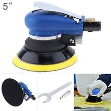 цена на 5 Inch/6 Inch Non-vacuum Matte Surface Pneumatic Polishing Machine Random Orbital with Sander Pad for Cars Polishing / Grinding