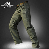 High Quality 2017 Outdoors Baggy Grid Cotton Army Military Cargo tactical Camo Waterproof Trousers Men Solid Casual Pants Mens