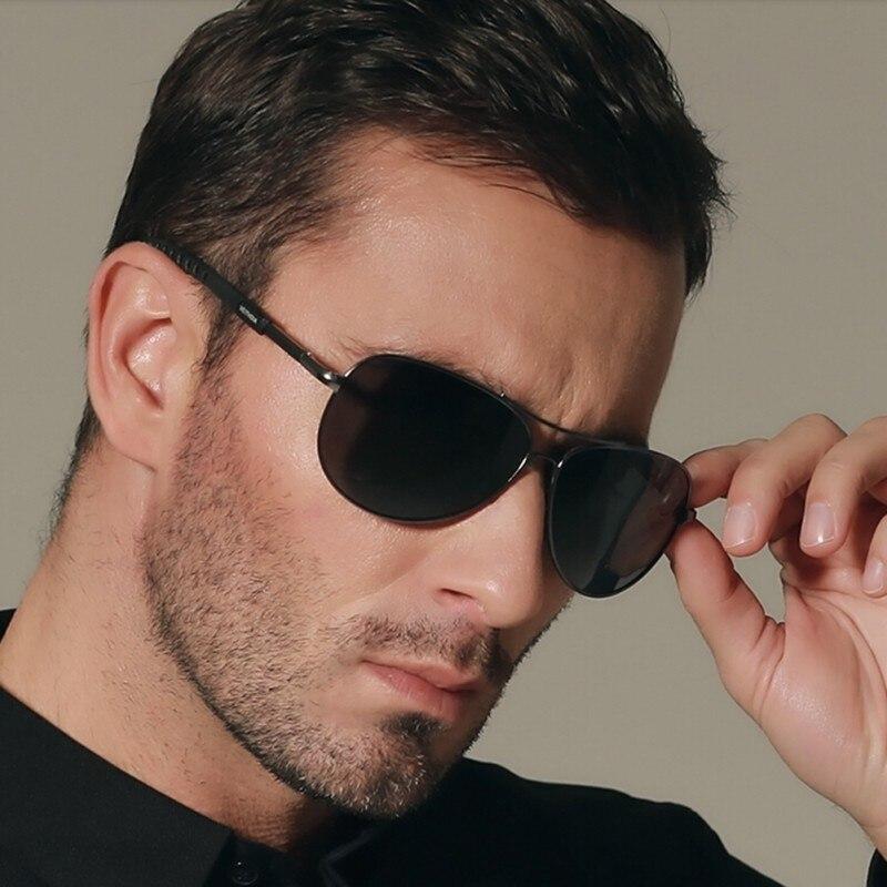 Для мужчин поляризационные Солнцезащитные очки для женщин наружное вождения Goggle очки Защита от солнца Очки Óculos De Sol авиатор Брендовая Диза...