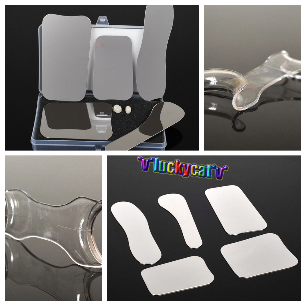 5Pcs Dental orthodontic Clinic photography Mirror+10Pcs Dental Double headed Mouth Cheek Retractor Opener 5pcs set oral clinic stainless steel photographic mirror reflector and 4pcs 2set s l double headed retractor opener dental lab