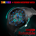 Watches Men Digital LED Role Dual Display Wristwatches Men Stop Watch Alarm relogio masculino Water Resistance Compass Calendar