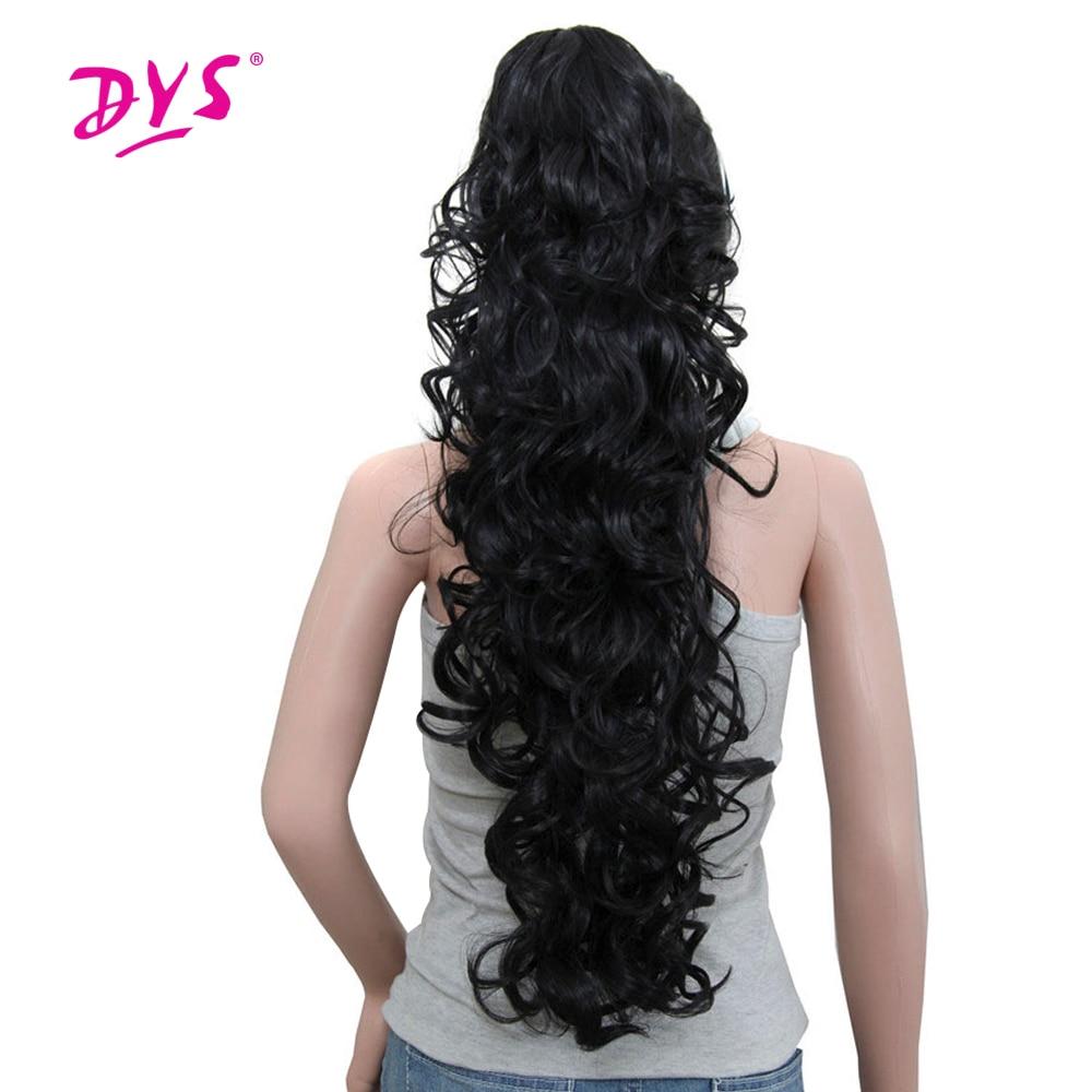 Deyngs 75εκ μακρύ σγουρό αλογοουρά 220γρ - Συνθετικά μαλλιά - Φωτογραφία 1