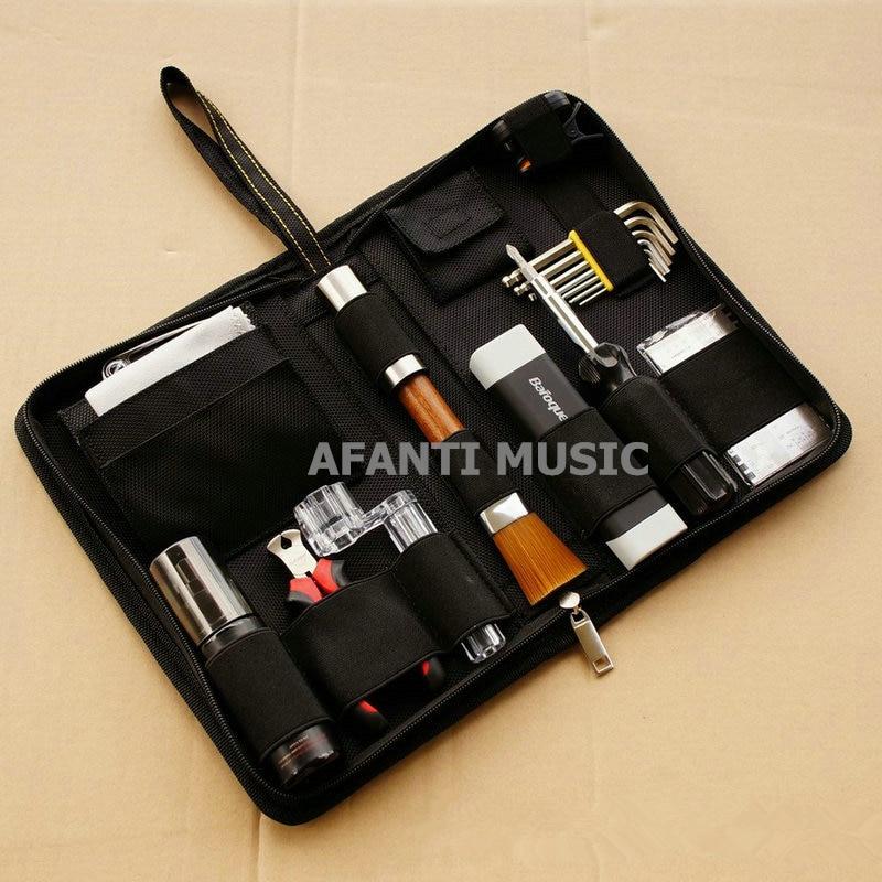 Afanti music Guitar Care Combination kit / multifunctional care tool (GTL-117) afanti music prs diy guitar kit prs style electric guitar apr 727