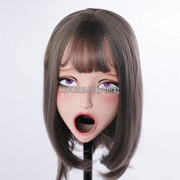 (KIG705) Special Custom Cosplay Japanese Role Play Anime Kigurumi Mask Crossdresser Doll Mask