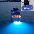 Подводсветильник светильник для рыбалки, 6 светодиодов, 12 В
