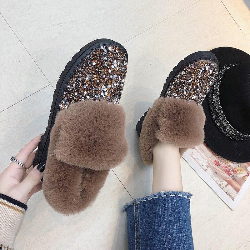 De Invierno La Casuales Para Antideslizantes Algodón 2018 Cálido Bling Cortas Zapatos Botas Nieve ZX6xnAp