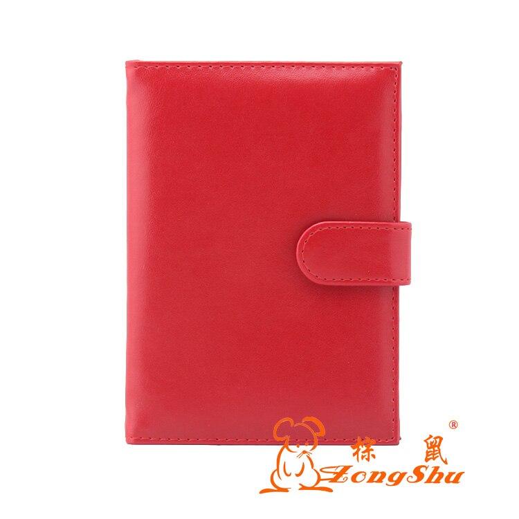 Zongshu multifonction Voyage PU Détenteur D'un Passeport en cuir permis de Conduire Couverture Document cover Card wallet Protecteur (accepter la Coutume