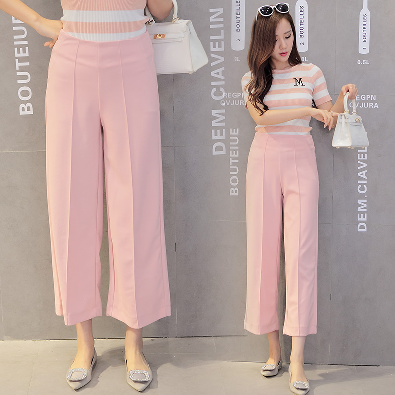 Wide leg loose pants pant so Style me pink fashion show